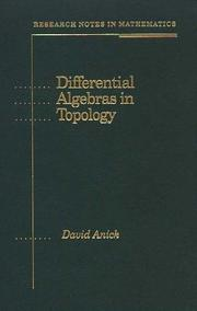 Cover of: Differential algebras in topology | David Jay Anick