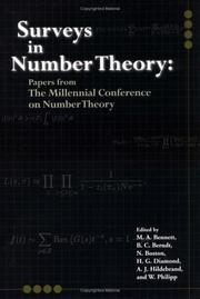 Cover of: Surveys in Number Theory | Millenial Conference on Number Theory