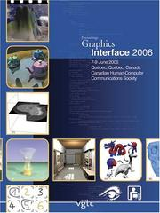 Cover of: Graphics Interface 2006 | Carl Gutwin