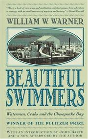 Cover of: Beautiful Swimmers | William W. Warner