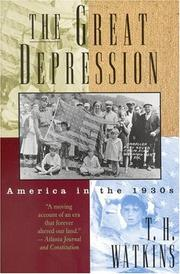 Cover of: The Great Depression | T. H. Watkins