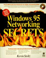 Cover of: Windows 95 networking SECRETS