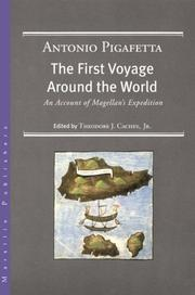 Cover of: The First Voyage Around the World (1519-1522) | Antonio Pigafetta