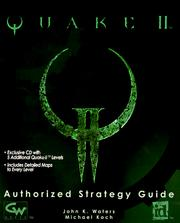 Cover of: Quake II: The Authorized Strategy Guide With CDROM
