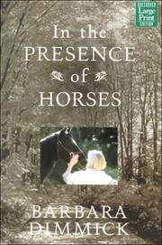 Cover of: In the presence of horses