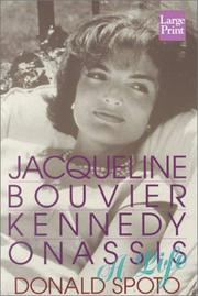 Cover of: Jacqueline Bouvier Kennedy Onassis: a life