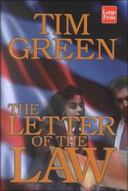 Cover of: The letter of the law