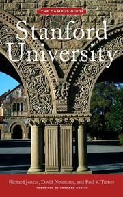 Cover of: Stanford University | Richard Joncas