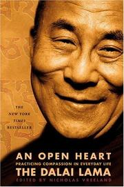 Cover of: An Open Heart | 14th Dalai Lama, Nicholas Vreeland