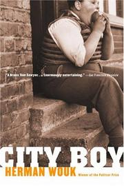 Cover of: City boy | Herman Wouk