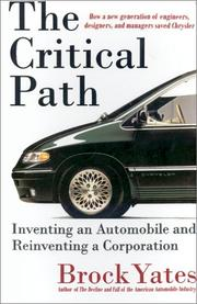 Cover of: The critical path