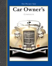 Cover of: Car Companion Companion by Ronnie Productions Sellers