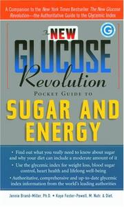 Cover of: The new glucose revolution pocket guide to sugar & energy | Janette Brand Miller