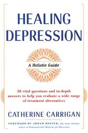 Cover of: Healing depression