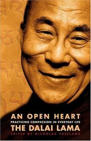 Cover of: An Open Heart: Practicing Compassion in Everyday Life
