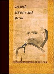 Cover of: Zen Mind, Beginner's Mind Journal