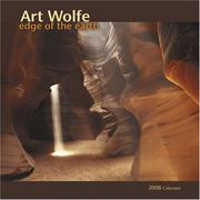 Cover of: Art Wolfe: Edge of the Earth 2008 Calendar
