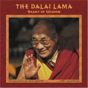 Cover of: The Dalai Lama: Heart of wisdom 2008 calendar