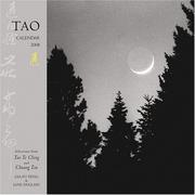 Cover of: Tao 2008 Calendar
