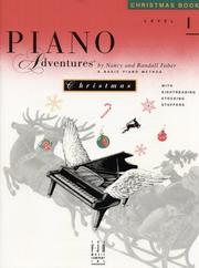 Cover of: Piano Adventures Christmas Book, Level 1