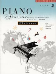 Cover of: Piano Adventures Christmas Book, Level 3A