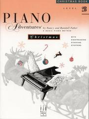 Cover of: Piano Adventures Christmas Book, Level 2B