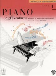 Cover of: Piano Adventures Popular Repertoire, Level 1