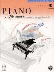 Cover of: Piano Adventures Popular Repertoire, Level 2B