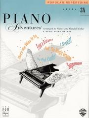 Cover of: Piano Adventures Popular Repertoire, Level 3A