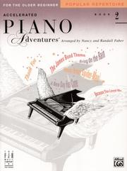 Cover of: Accelerated Piano Adventures, Popular Repertoire Book 2