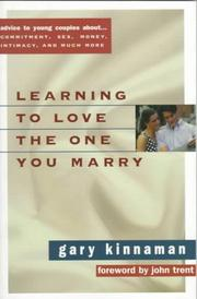 Cover of: Learning to love the one you marry