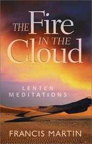 Cover of: The Fire in the Cloud: Lenten Meditations