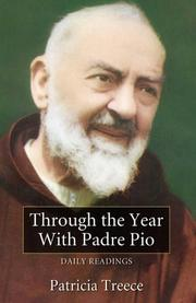 Cover of: Through the year with Padre Pio