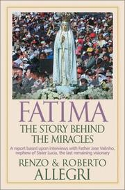 Cover of: Fatima: The Story Behind the Miracles
