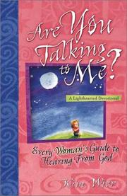 Cover of: Are You Talking to Me | Kim Wier