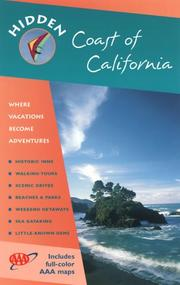 Cover of: Hidden Coast of California (Hidden Coast of California, 8th ed) | Ray Riegert