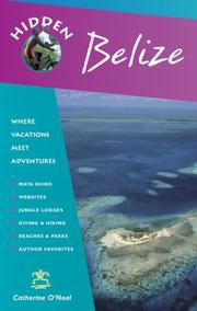 Cover of: Hidden Belize | Richard Harris