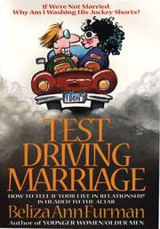 Cover of: Test-driving marriage | Beliza Ann Furman