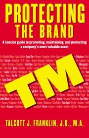 Protecting the brand by Talcott J. Franklin