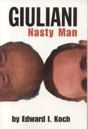 Cover of: Giuliani | Edward I. Koch