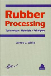 Cover of: Rubber processing