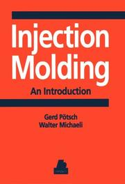 Cover of: Injection molding