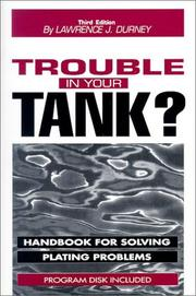 Cover of: Trouble in your tank? | Lawrence J. Durney