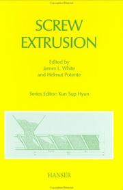Cover of: Screw Extrusion