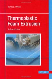 Cover of: Thermoplastic Foam Extrusion