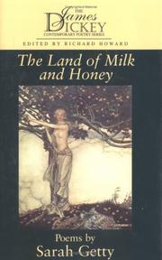 Cover of: The land of milk and honey