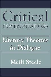 Cover of: Critical confrontations