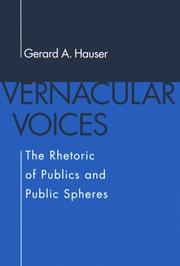Cover of: Vernacular voices