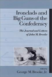Cover of: Ironclads and big guns of the Confederacy