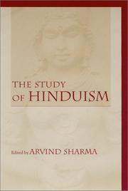 Cover of: The study of Hinduism | edited by Arvind Sharma.